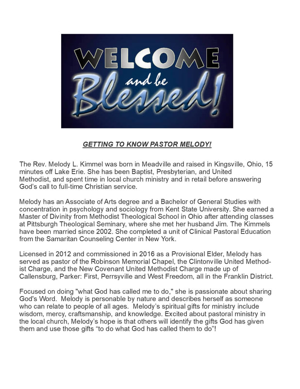 Meet Pastor Melody